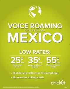 Mexico Voice Roaming Rates